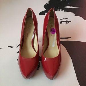 Kelsi Dagger | Red Patent Leather Stilettos